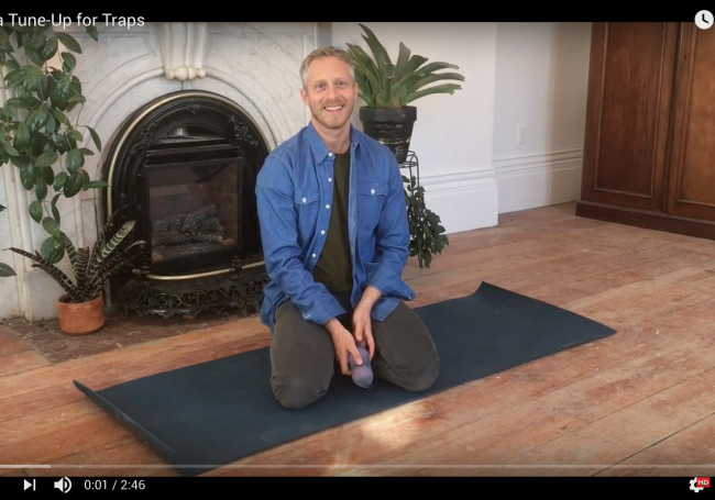 Yoga Tune-Up for Traps